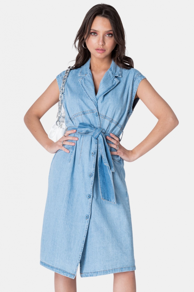 Φόρεμα Jean με Ζωνάκι