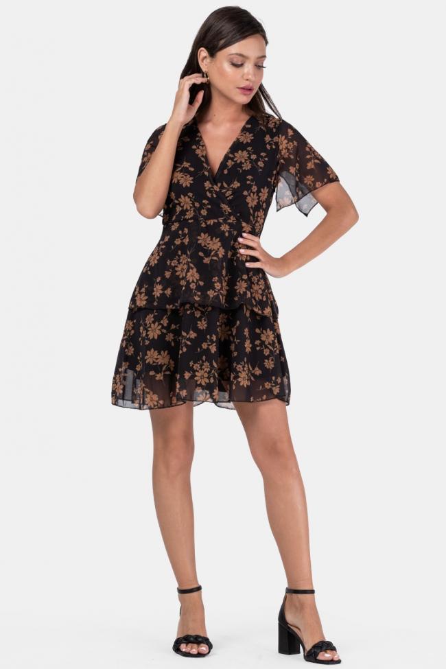 Φόρεμα Κρουαζέ Floral