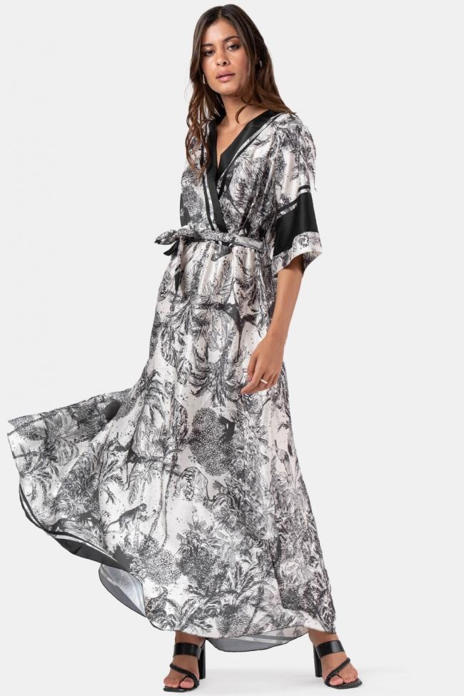 Φόρεμα Κρουαζέ με Ζωνάκι