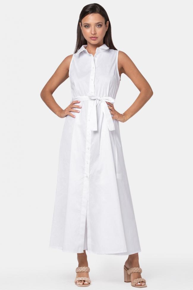 Φόρεμα Maxi με Ζωνάκι