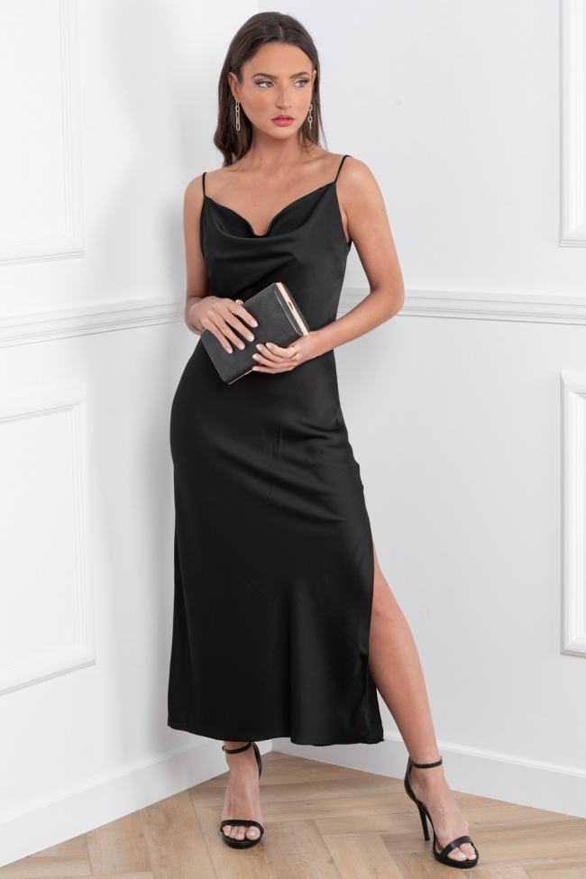 Φόρεμα Maxi Satin