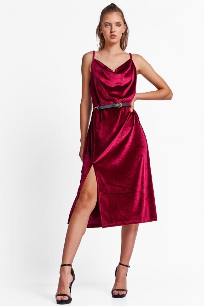 Φόρεμα Maxi Velvet