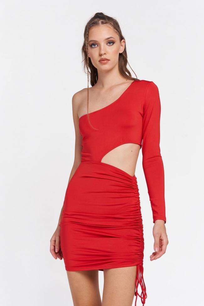 Φόρεμα με Εναν Ωμο