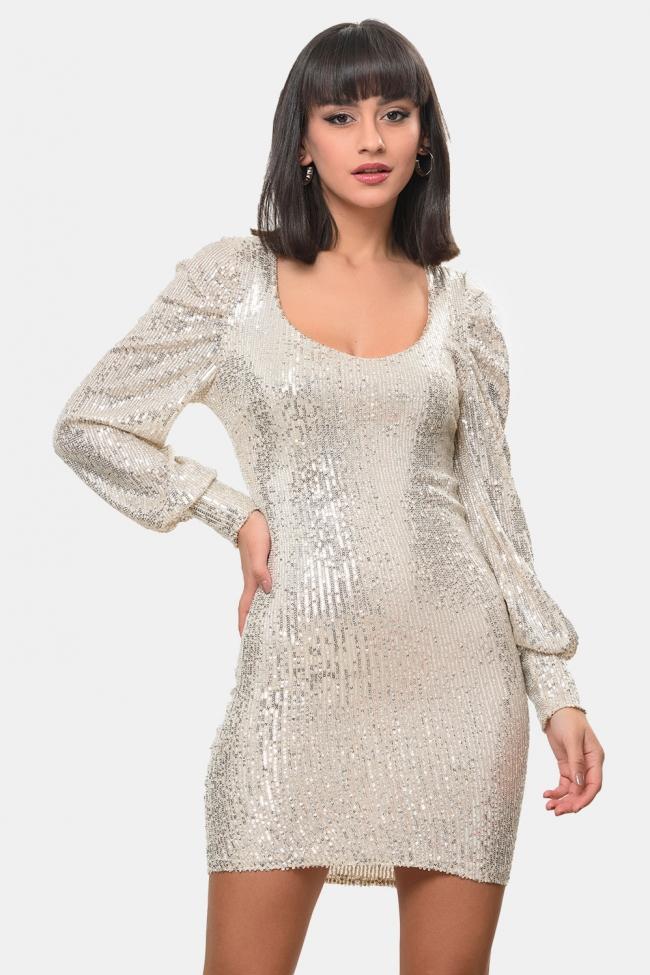 Φόρεμα με Παγιέτες