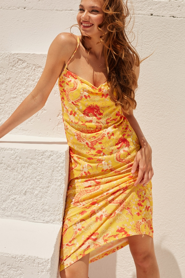 Φόρεμα με Σχέδια