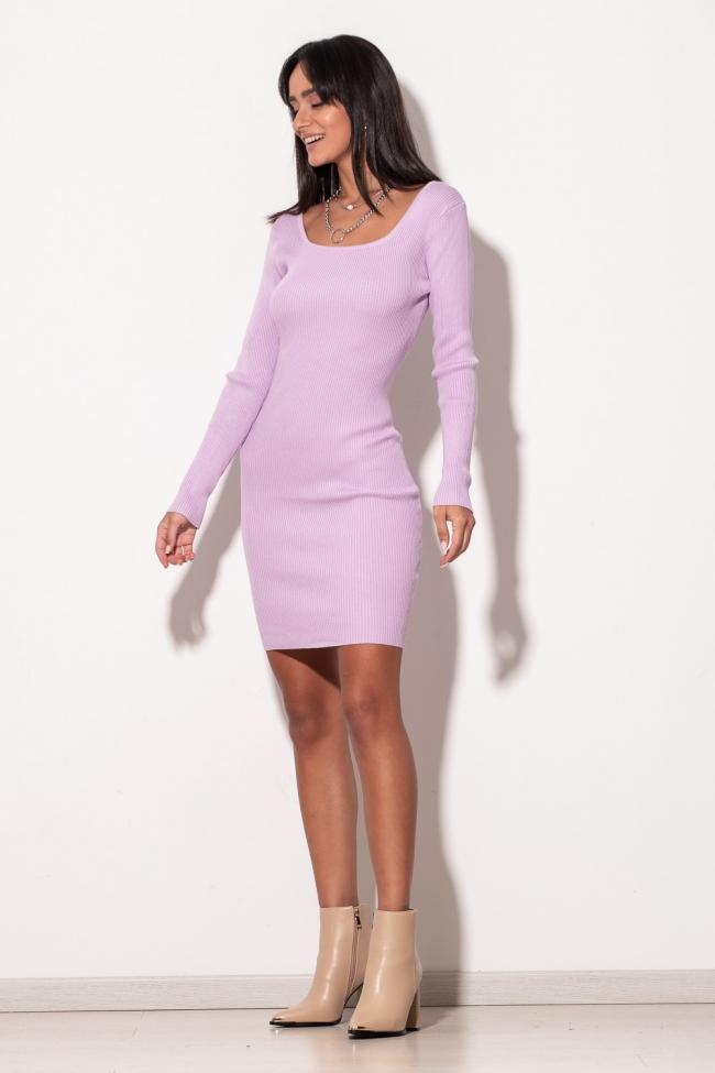 Φόρεμα Πλεκτό  Εξώπλατο
