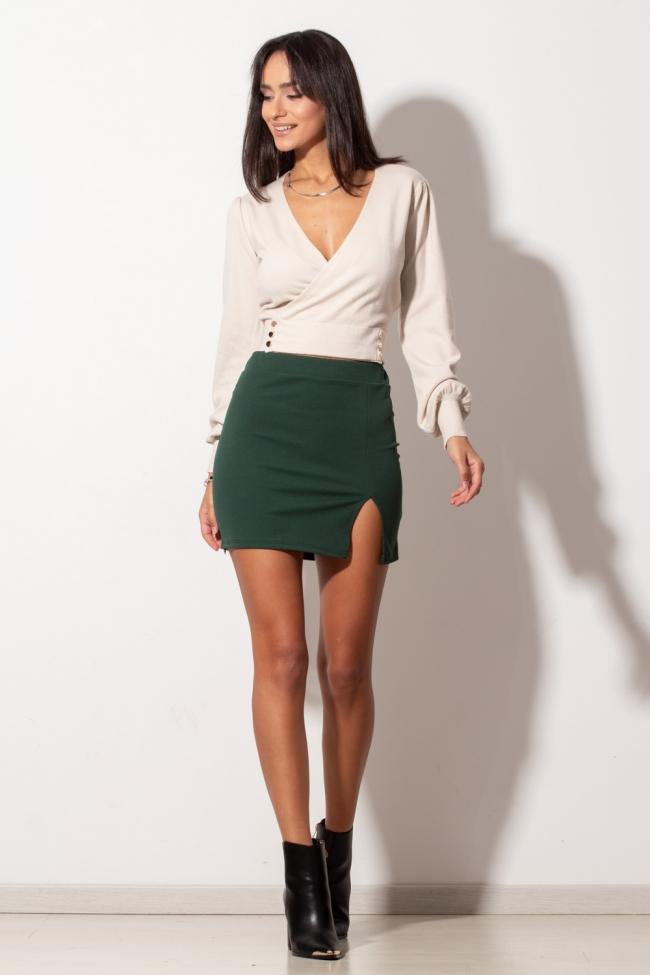 Φούστα mini με Σκίσιμο