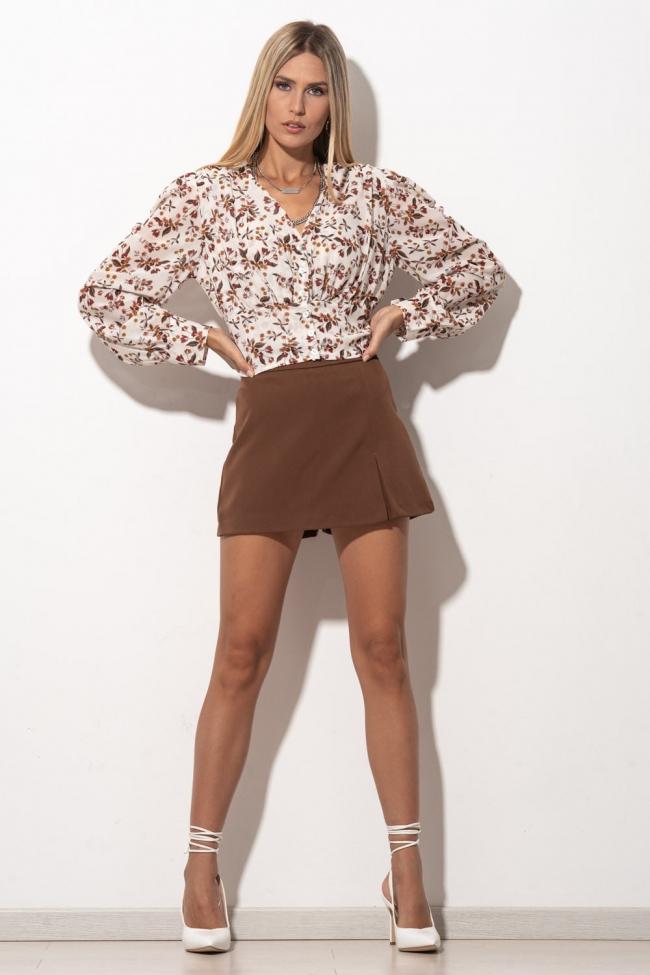 Φούστα-Shorts Ψηλόμεση