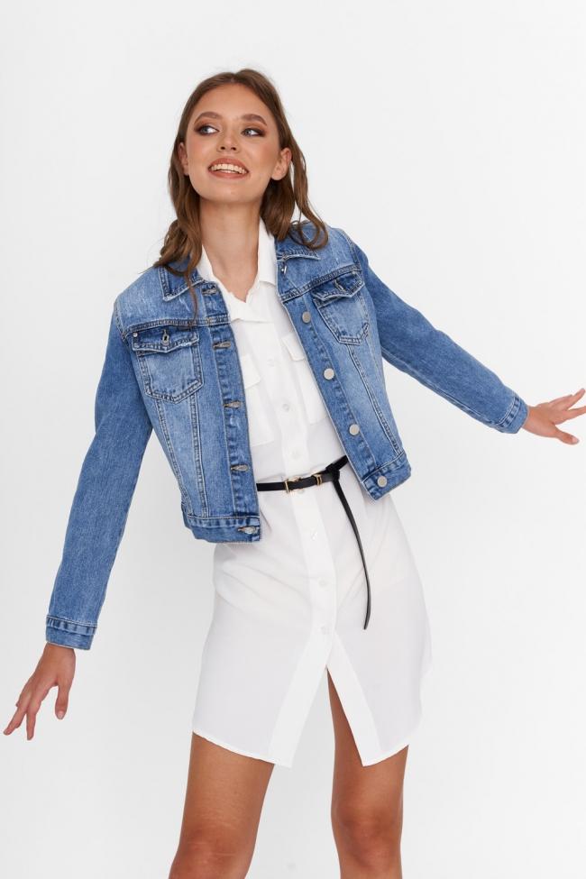 Jacket Jean Κοντό