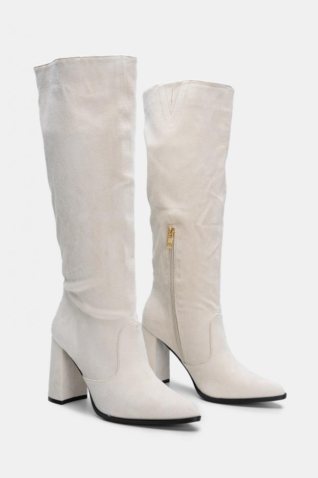 Μπότες Suede
