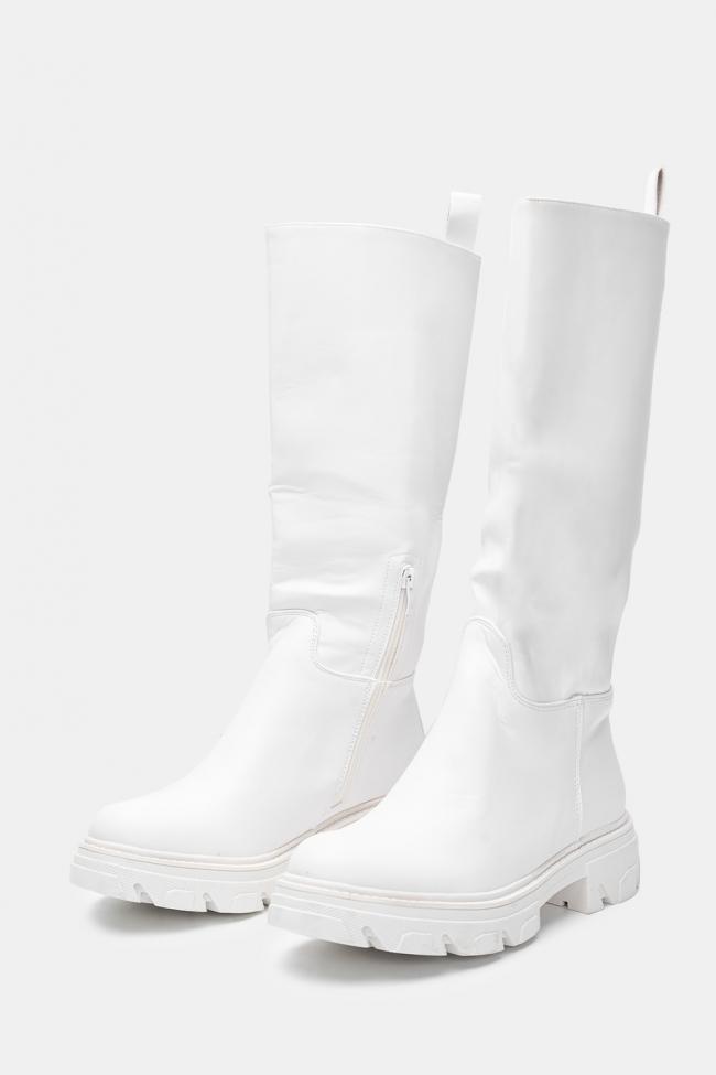 Μπότες Δερματίνη