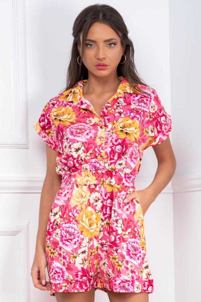 Ολόσωμο Shorts Floral