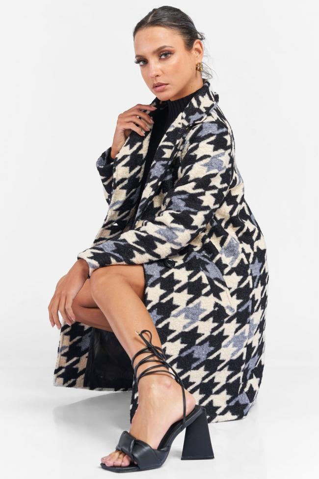 Παλτό με Σχέδια