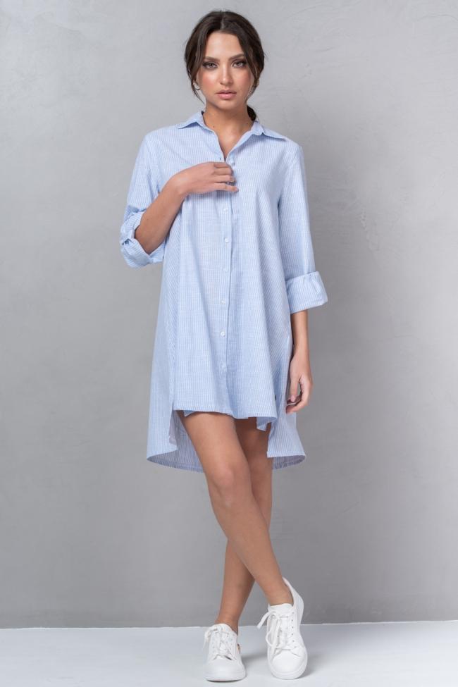 Πουκάμισο Φόρεμα Ριγέ