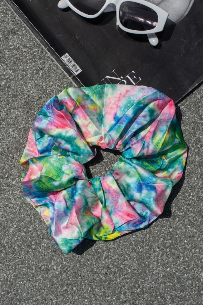 Scrunchies Tie Dye
