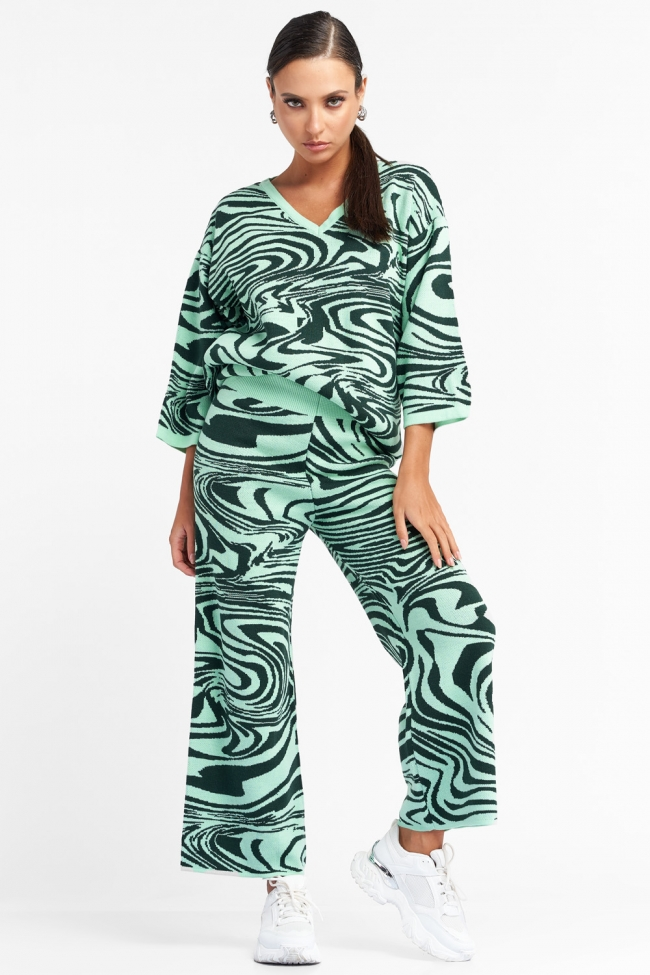 Set Μπλούζα & Παντελόνι Πλεκτό
