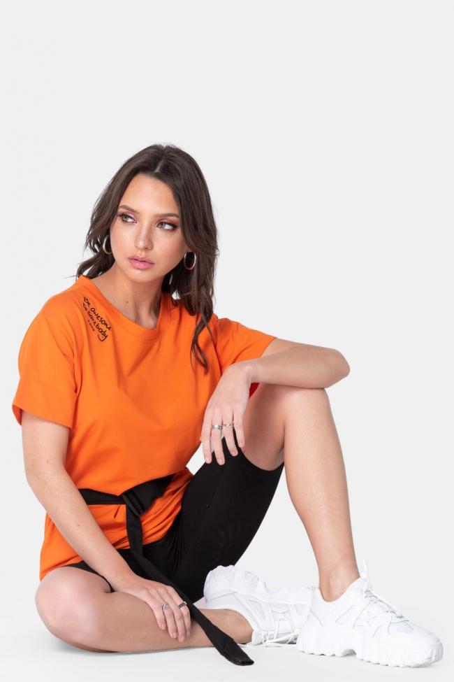 Set Μπλούζα & Shorts με Ζωνάκι