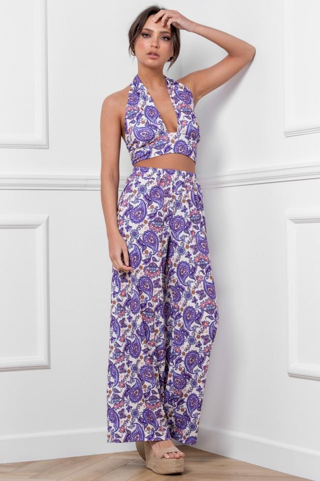 Set Top & Παντελόνα Floral