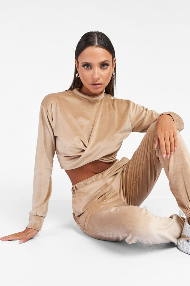 Set Top & Παντελόνι Velvet