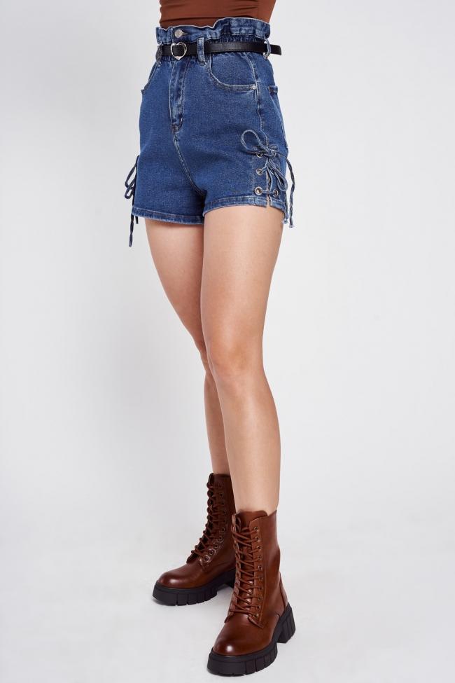 Shorts Jean Ψηλόμεσο
