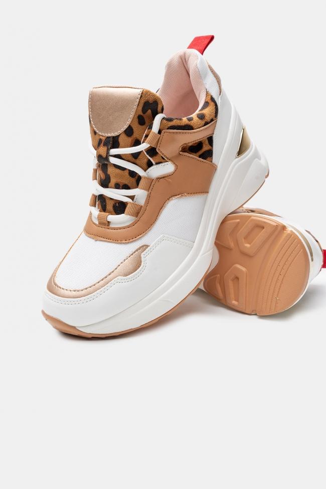 Sneakers Δίπατα Animal Print