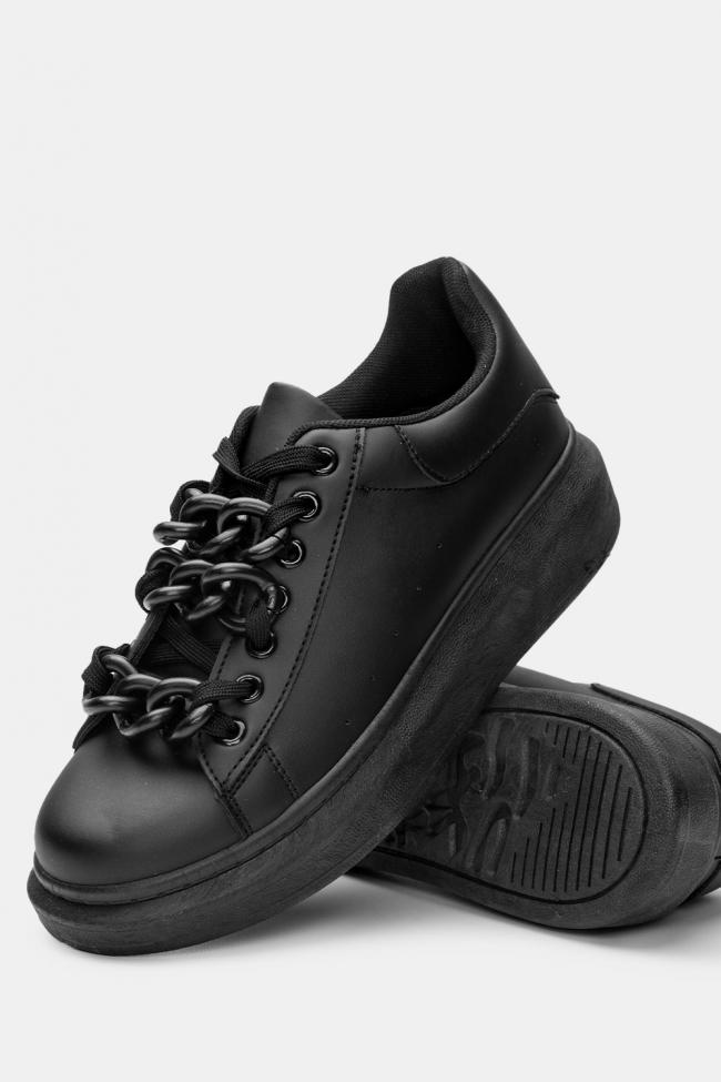 Sneakers Δίπατα με Αλυσίδα