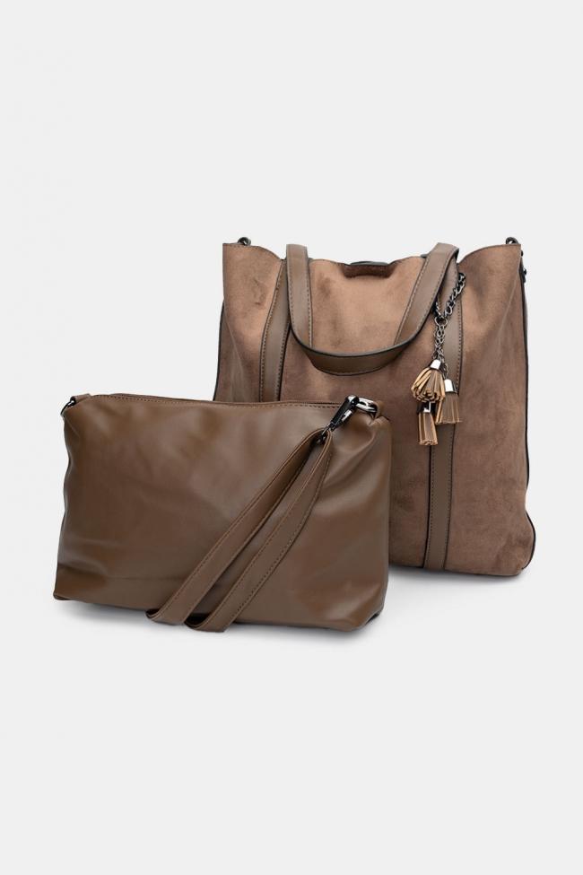 Τσάντα Ωμου Velvet